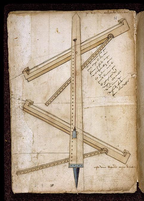(Figures d'ouvrages de génie civil et militaire) - Instrument de mesure_0