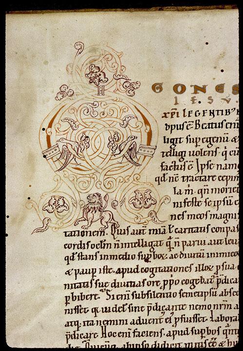 Comment. in Evangelium Johannis - Oiseaux et lion_0
