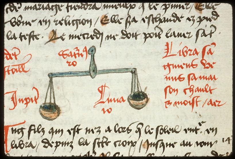 Introduction à l'astrologie - Constellation : la Balance_0