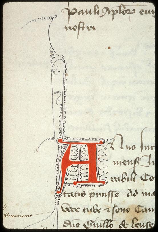 Cartulaire municipal d'Aix-en-Provence, Livre rouge (1) - Visage_0