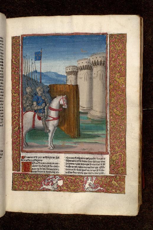 Grandes chroniques de France - Siège d'Avignon par Louis VIII (à préciser)_0
