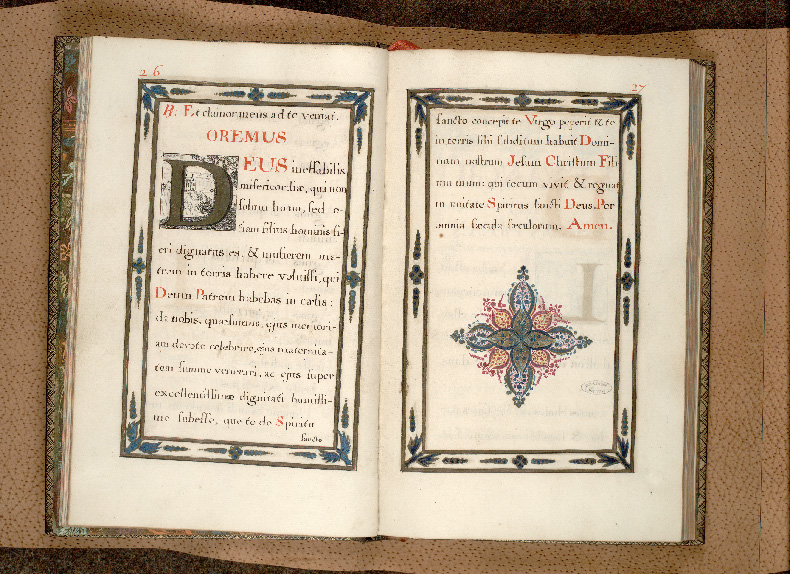 Petit office de la messe et autres prières - Page décorée_0