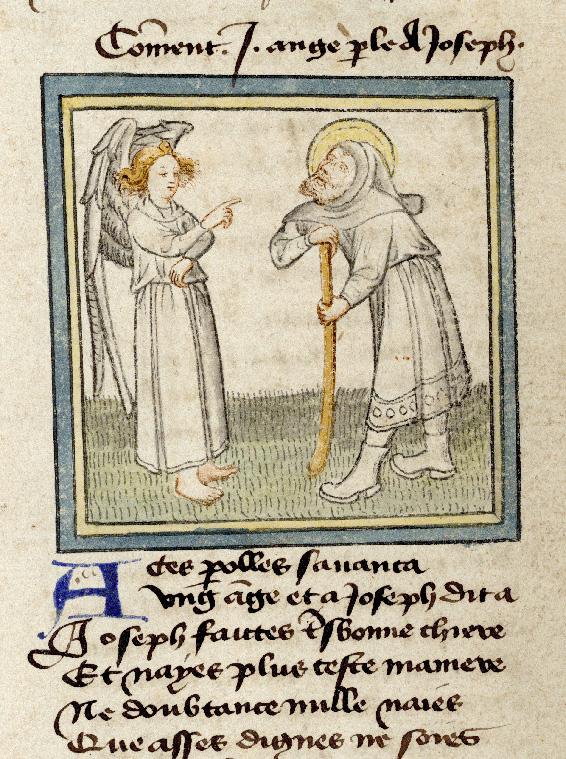 Pèlerinage de Jésus-Christ - Apparition de l'ange Gabriel à saint Joseph_0