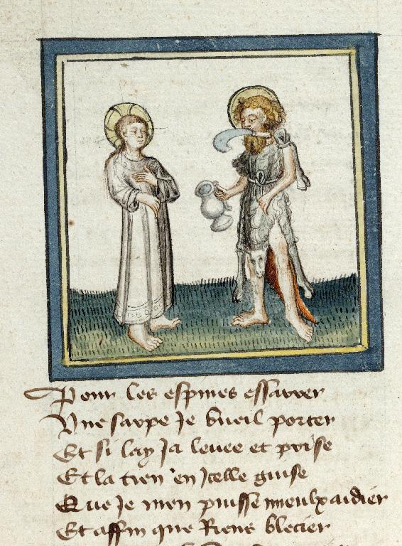 Pèlerinage de Jésus-Christ - Jésus et saint Jean-Baptiste_0