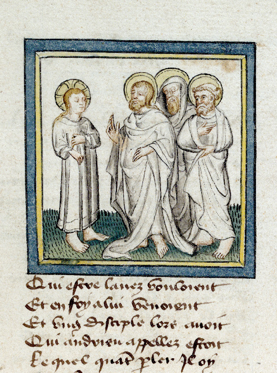 Pèlerinage de Jésus-Christ - Vocation des apôtres_0