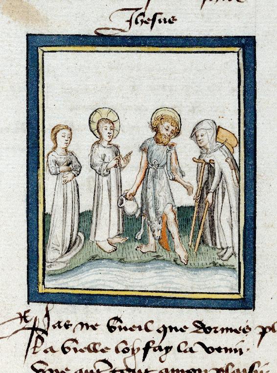 Pèlerinage de Jésus-Christ - Jésus destituant l'Ancienne Loi amenée par saint Jean-Baptiste_0