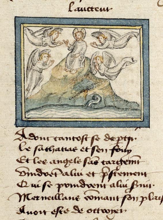 Pèlerinage de Jésus-Christ - Christ entouré d'anges_0