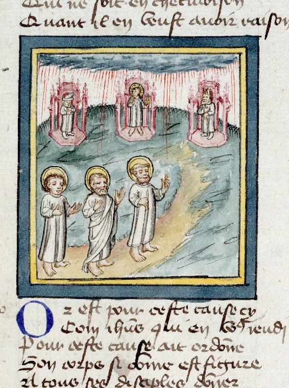 Pèlerinage de Jésus-Christ - Transfiguration_0