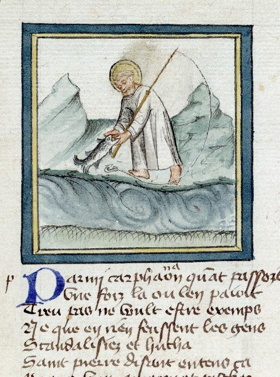Pèlerinage de Jésus-Christ - Statère pour le Temple trouvé par saint Pierre dans un poisson_0