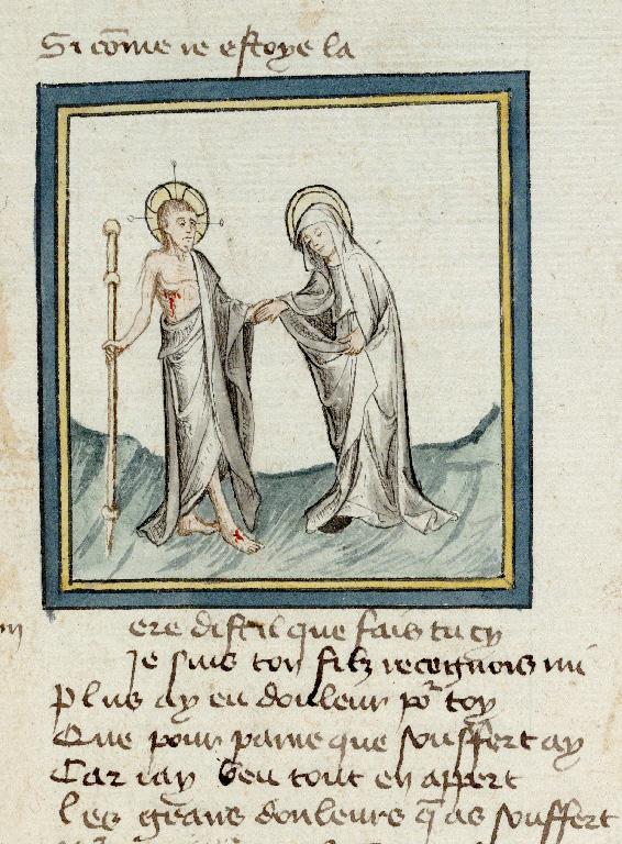 Pèlerinage de Jésus-Christ - Apparition à Marie_0