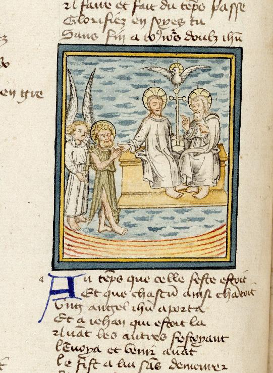 Pèlerinage de Jésus-Christ - Jésus présentant à Dieu saint Jean-Baptiste_0
