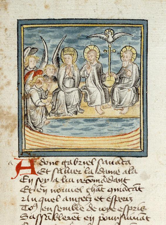 Pèlerinage de Jésus-Christ - Ange Gabriel et la Vierge_0