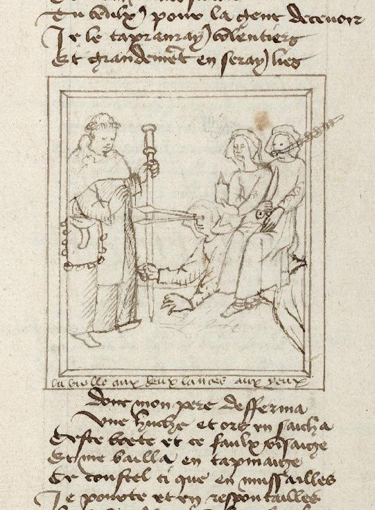 Pèlerinage de vie humaine - Pèlerin rencontrant Envie, Trahison et Détraction (Le)_0