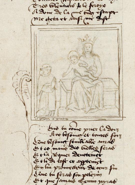 Pèlerinage de vie humaine - Pèlerin priant la Vierge à l'Enfant (Le)_0