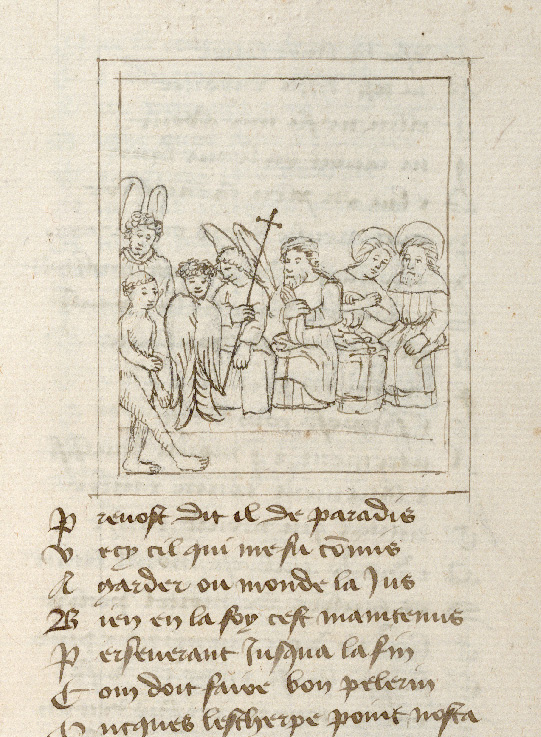 Pèlerinage de l'âme - Ange gardien présentant l'âme du pèlerin à saint Michel (L')_0