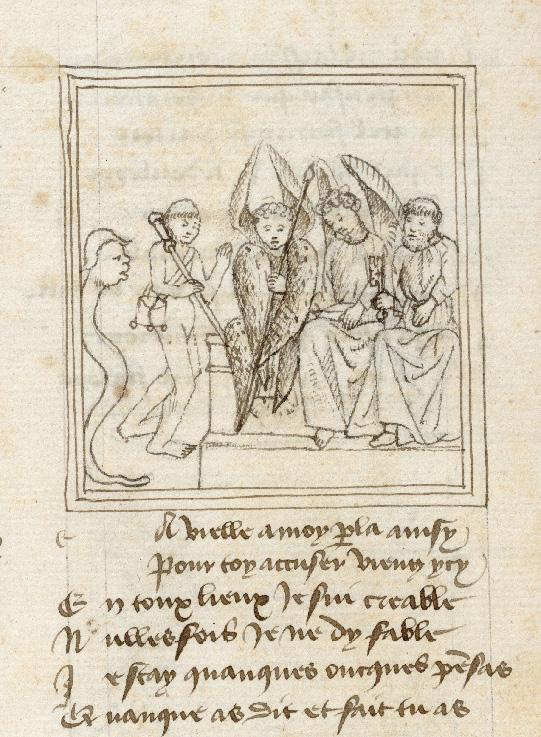 Pèlerinage de l'âme - Ame du pèlerin et Reproche face à saint Michel (L')_0