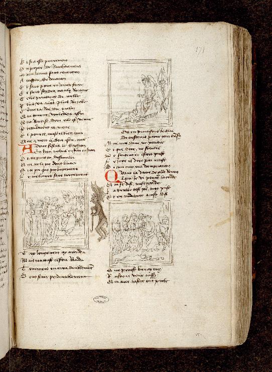 Pèlerinage de l'âme - Plaidoyer de Satan devant saint Michel_0