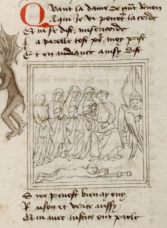 Pèlerinage de l'âme - Miséricorde plaidant la cause du pèlerin_0
