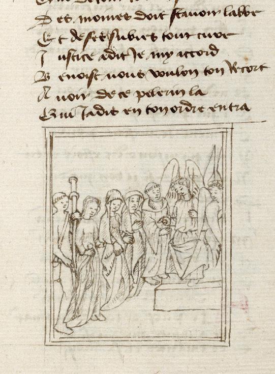 Pèlerinage de l'âme - Saint Benoît pris à parti par Justice et Miséricorde_0