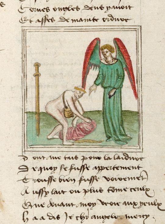 Pèlerinage de l'âme - Ame du pèlerin découvrant les attributs des damnés (L')_0