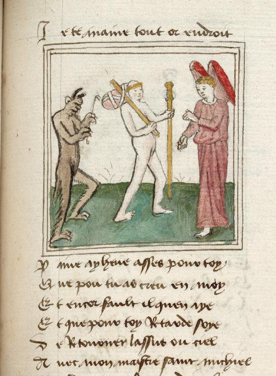 Pèlerinage de l'âme - Ame du pèlerin et son ange gardien quittant l'Enfer (L')_0