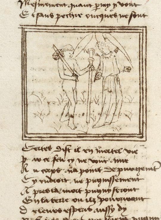 Pèlerinage de l'âme - Ame du pèlerin et son ange gardien (L')_0