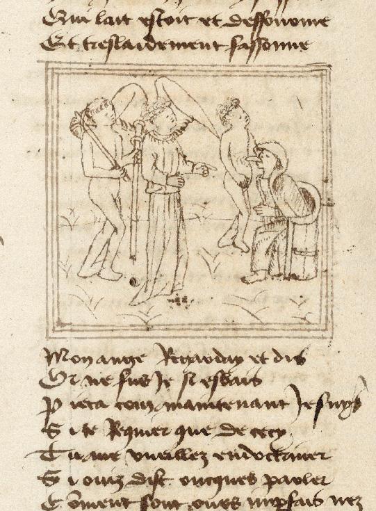Pèlerinage de l'âme - Ame du pèlerin, son ange gardien et Doctrine façonnant un pèlerin (L')_0