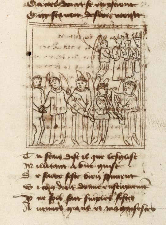 Pèlerinage de l'âme - Ange gardien montrant à l'âme du pèlerin les anges musiciens (L')_0
