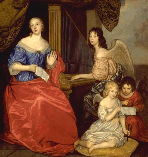 MADEMOISELLE DE LA VALLIERE ET SES ENFANTS_0