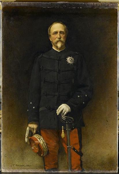 PORTRAIT DU GENERAL HENRI D'ORLEANS, DUC D'AUMALE (1880)_0