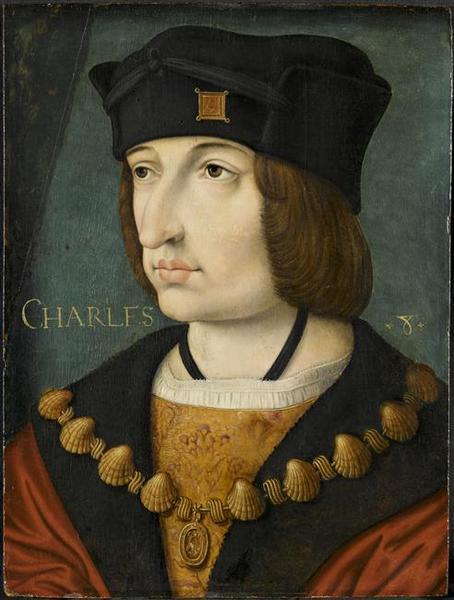 PORTRAIT DE CHARLES VIII_0