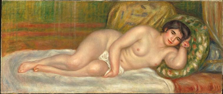 Femme nue couchée_0