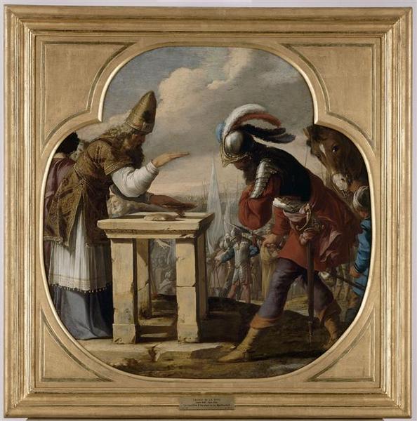 La rencontre d'Abraham et de Melchisedech_0