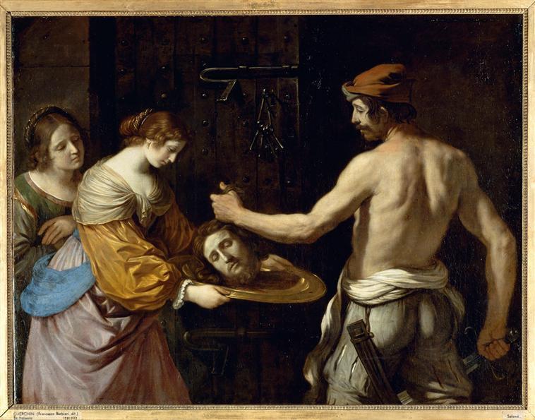 Salomé recevant la tête de saint Jean-Baptiste_0