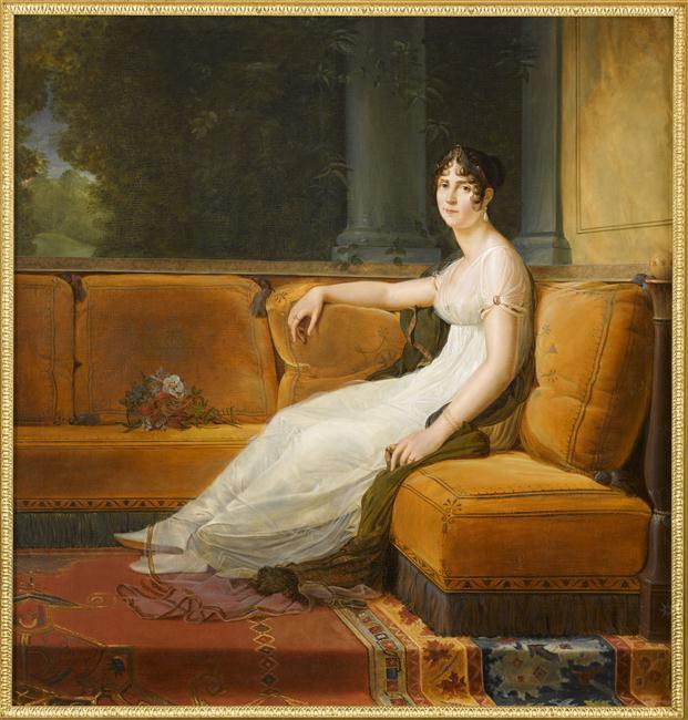 Madame Bonaparte dans son salon_0