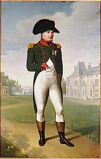 Napoléon Ier devant le château de Malmaison_0