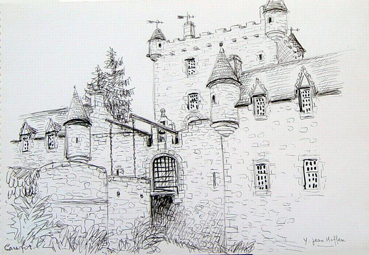 Ecosse : Château fort [titre attribué]_0