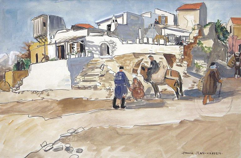 Village de Crète [titre attribué]_0