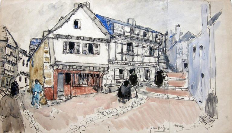 Vieille maison à Auray [titre attribué]_0