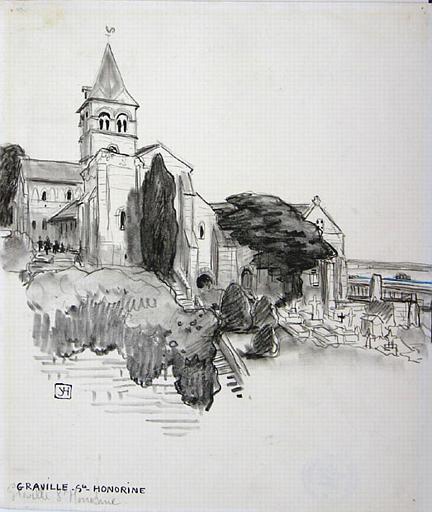 Eglise sainte Honorine de Graville [titre attribué]_0