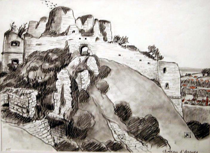 Le château d'Arques-la-Bataille [titre attribué]_0