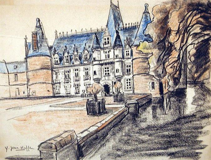 Château d'Ile de France [titre attribué]_0