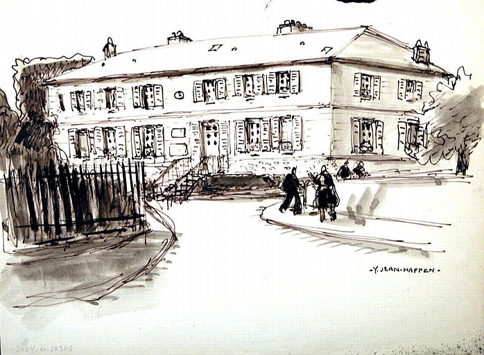 Jouy-en-Josas : grande maison [titre attribué]_0