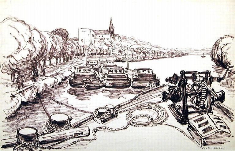 La Seine à Conflans-Sainte-Honorine [titre attribué]_0