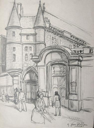 Rue des Archives (esquisse) [titre attribué]_0