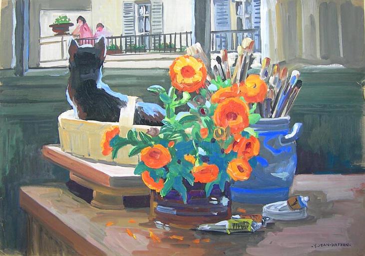 Mon atelier à Paris [titre attribué]_0