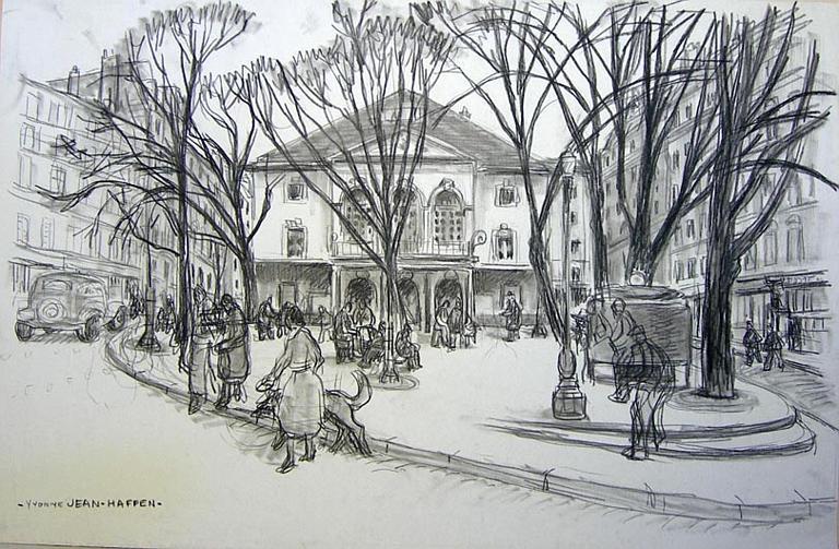 Le théâtre des Arts à Montmartre [titre attribué]_0