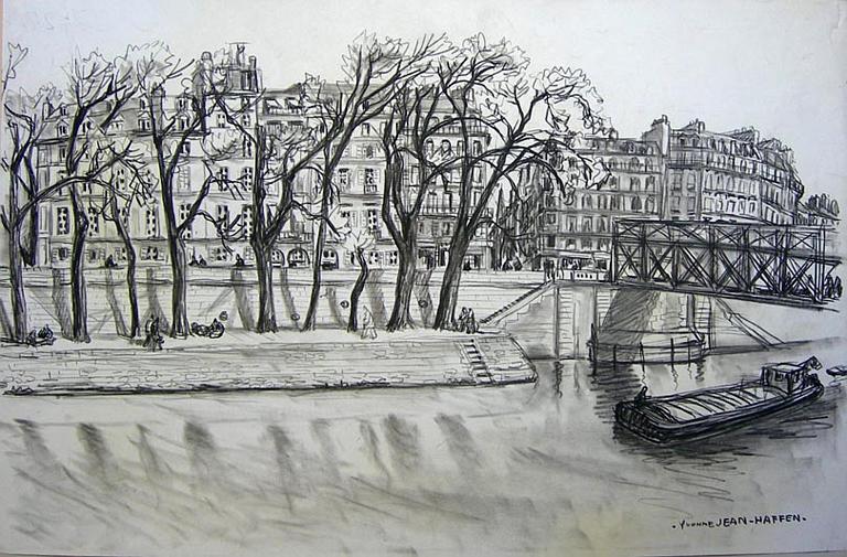 Le pont des Arts [titre attribué]_0