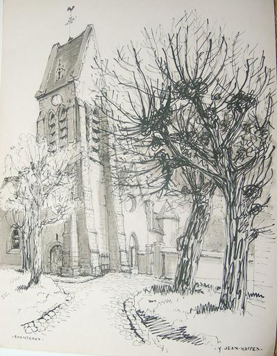 Champeaux (église XII-XIVe) [titre attribué]_0