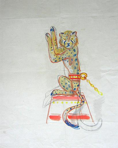 Un guépard savant [titre attribué]_0